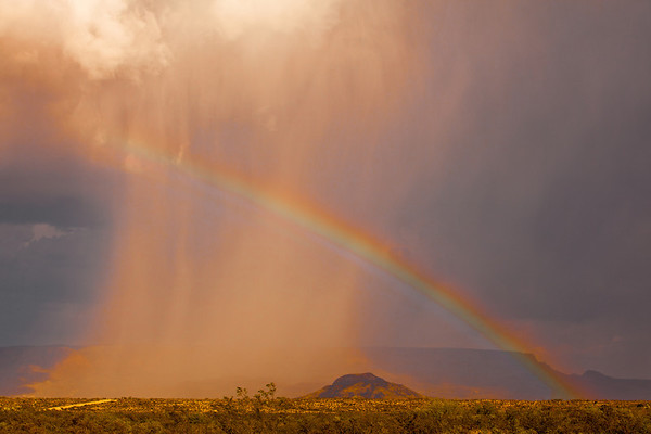 "A Rainbow at ""The Oasis"", Texas"