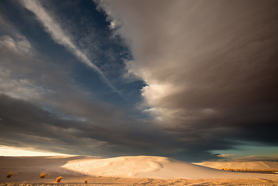 """White Sand Dunes National Monument"" in New Mexico."