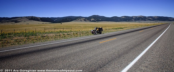 On the way to Lander, WY