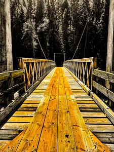 Suspended Bridge.